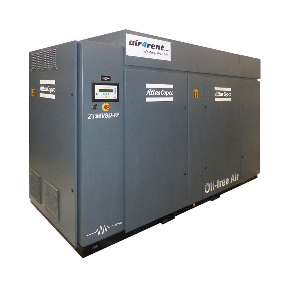 Rent Com: Compressor For Rent Atlas Copco ZT90VSDFF (MD) 007005