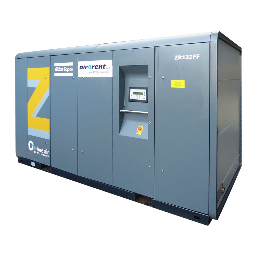 Www Rent Com: Compressor For Rent Atlas Copco ZR132FF (MD) 006641